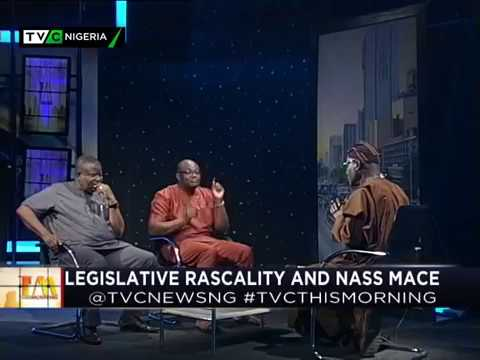 This Morning 20th April 2018 | Legislative Rascality and NASS Mace