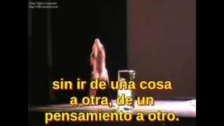 María Zambrano - Los Hermanos - La tumba de Antígona (con subtitulos en castillan)