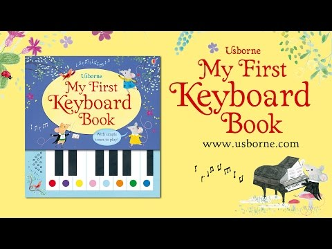 Usborne 'My First Keyboard Book' - see how it works