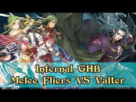 [Fire Emblem: Heroes] Melee fliers vs...