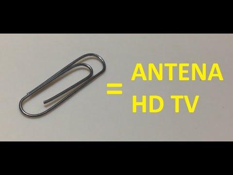 Clip Antena HDTV con clip metalico sencilla y sin costo