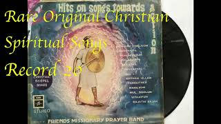 Hits On Songs Towards Action: Everlasting Tamil Christian Songs Record-20