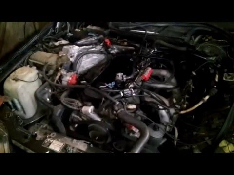 Mercedes 124 m102 8v EFI electronic fuel injection