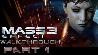 'Let's Play' Mass Effect 3 (Adept) Walkthrough  Pt. 1 [Prologue]