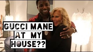 GUCCI Mane at MY House??