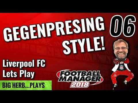FM18 Liverpool Lets Play Gegenpressing Style! 06 - Huddersfield and Barcelona Football Manager 2018