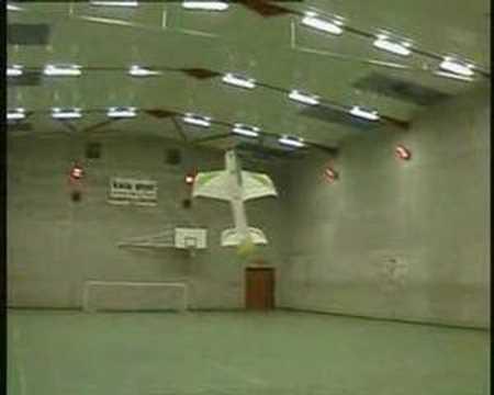 Indoor Foamie 3D flying