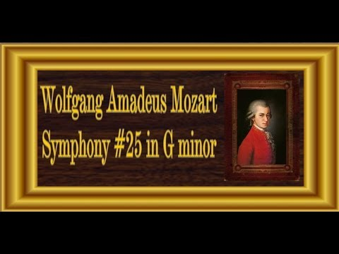 Mozart - Symphony No. 25 In G Minor