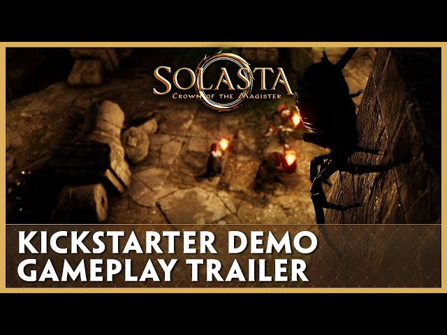 Gameplay Trailer - Solasta: Crown of the Magister [Kickstarter FREE Demo]