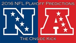 2016 NFL Playoff Predictions