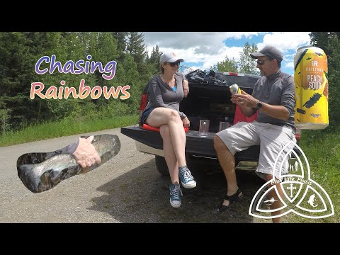 Fly Fishing Small Streams | Alberta | Chasing Rainbow Trout | 50/50 On The Water