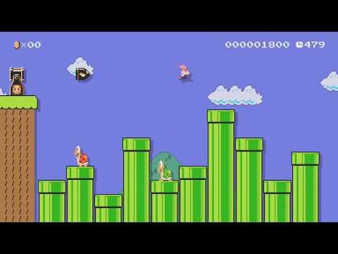 今日はバイト休みなので、思い切り遊んじゃおう! by りく - Super Mario Maker - No Commentary