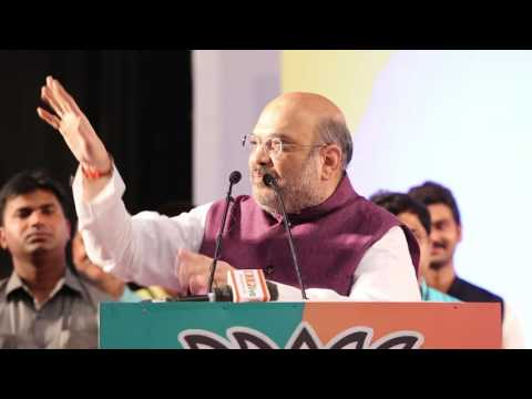 Shri Amit Shah addressing UP BJP Social Media Volunteers Meet in Lucknow (03 Sept 2016)