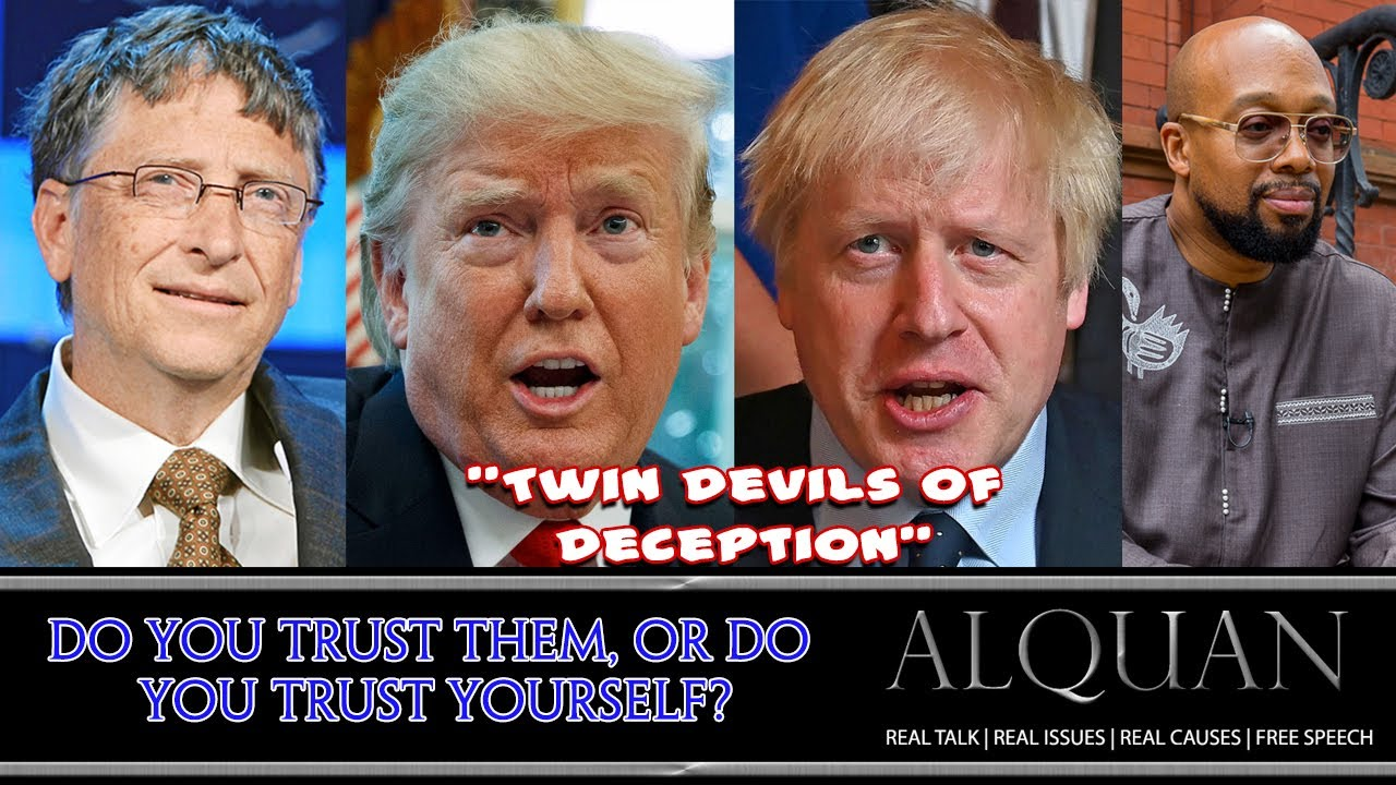 Do you trust them or do you trust yourself?  Pt.  I