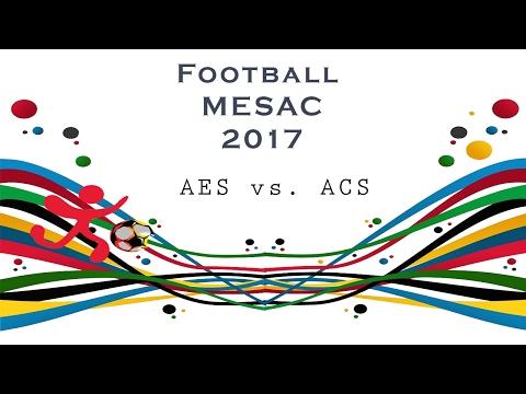 ACS FOOTBALL VARSITY GIRLS MESAC 2017 (AES VS. ACS)