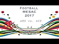 ACS FOOTBALL VARSITY GIRLS MESAC 2017 (AES VS. ACS)