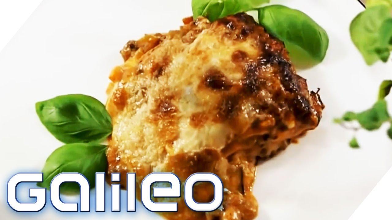Wie gelingt die perfekte Lasagne   Galileo   ProSieben