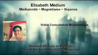 Elisabeth Médium - Contact Médiumnique avec Etienne pour sa maman Murielle