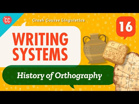 Writing Systems: Crash Course Linguistics #16All societies have...