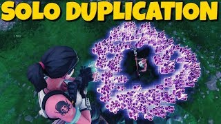 *SOLO* EASY DUPLICATION GLITCH !! *Not Clickbait OMG* Fortnite Save The World