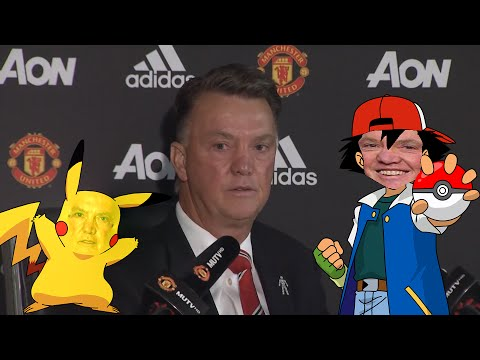 Louis van Gaal  Pokémon Theme Song!
