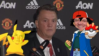 Louis van Gaal - Pokémon Theme Song!