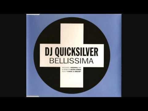 DJ Quicksilver ‎– Bellissima (Full UK CD Single)
