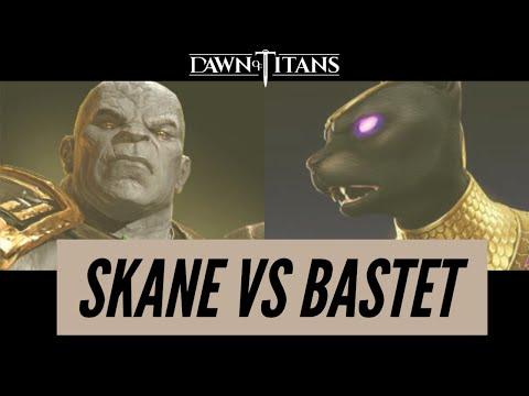 Dawn Of Titans Skane VS Bastet