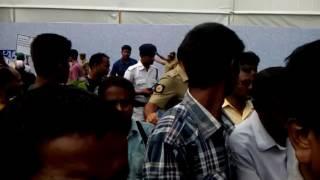 Police mis beheave in kolkata