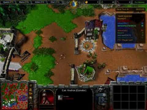 Warcraft 3 reighn of chaos Lord of the rings Risk   YouTube