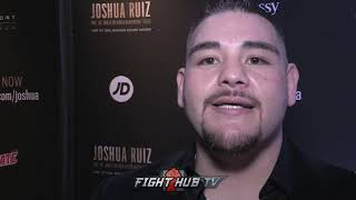 ANDY RUIZ JR TO FANS WHO CALL HIM A