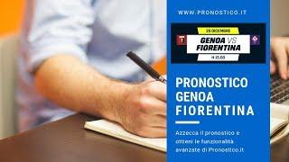 Risultato esatto di Genoa - Fiorentina?