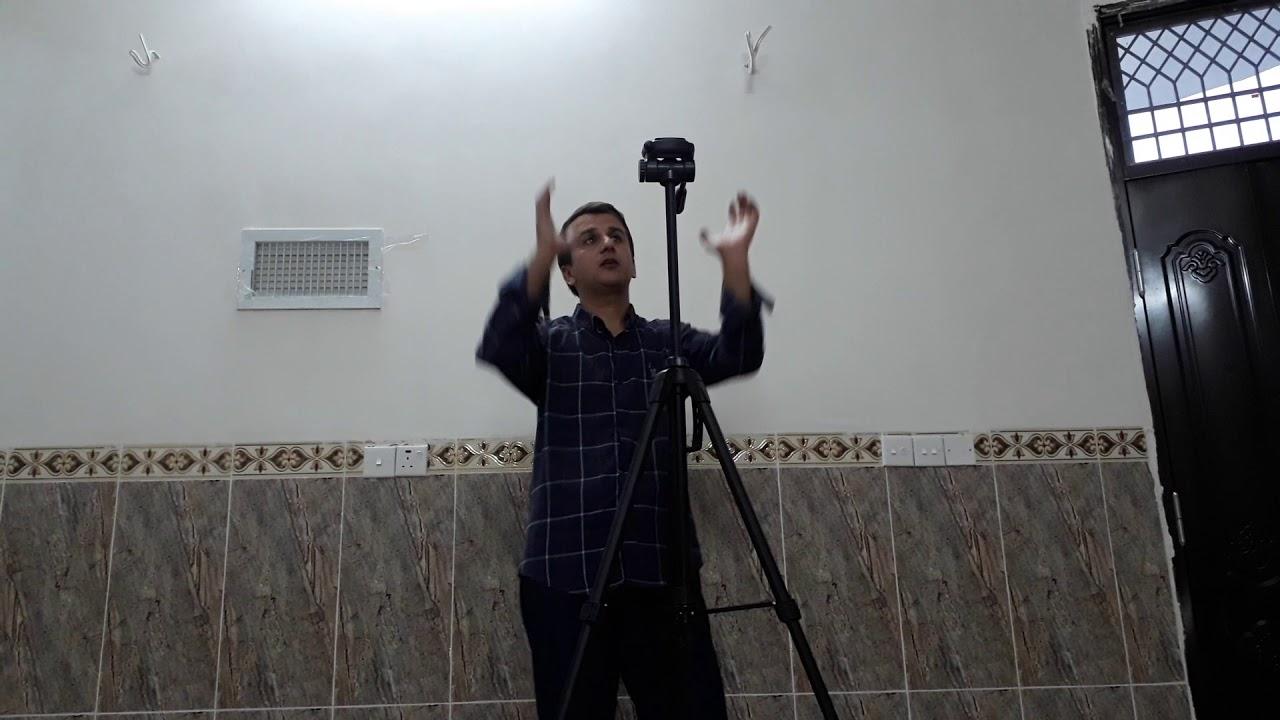بەکارهێنانی ستاندی کامێرا بۆ مۆبایل Camera stand unboxing