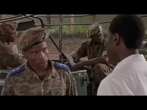 hotel rwanda river road scene There is a scene where he is driving down the river road in the early morning fog on the advice of the monstrous rutuganda, when the car begins to hit a very rough road paul, fearing they have gone off the road, orders the driver to stop.