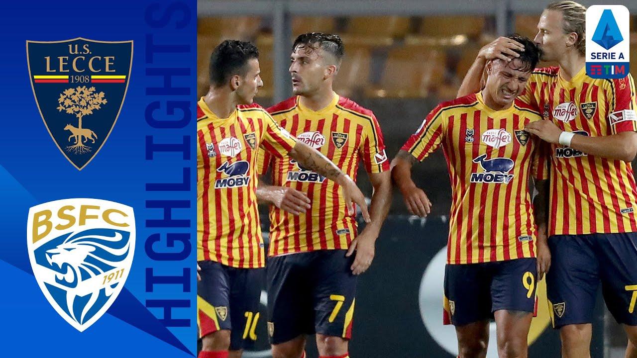 Lecce 3-1 Brescia
