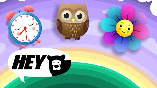 Baby Sensory Mobile - relaxing baby video with music - Infant Visual Stimulation