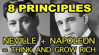 8 Neville Goddard Principles related to Think and Grow Rich (Neville Goddard, Napoleon Hill)