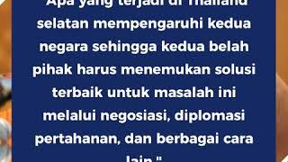 Menhan Malaysia Akan Mengunjungi Thailand Bulan Ini