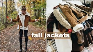 Fall Jackets You NEED this Season! try on haul