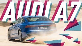 Фото с обложки Новая Audi A7 Sportback 2018/Лучший Полный Привод/Большой Тест Драйв