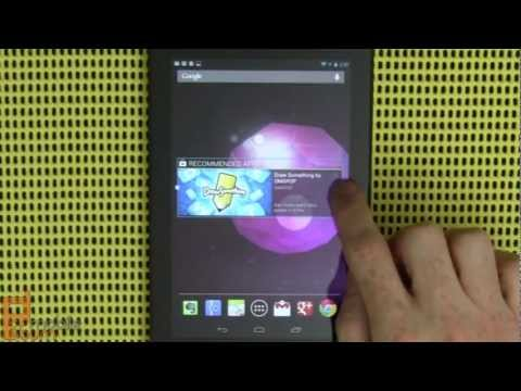 Google Nexus 7 Android tablet by ASUS review - part 1 of 2