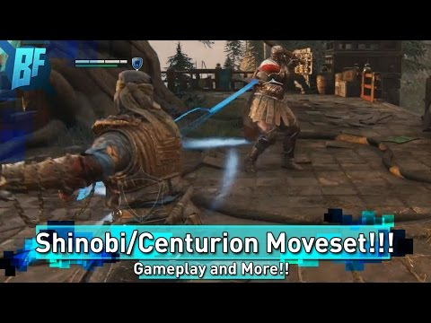 For Honor Dev Stream Recap (pt1): Centurion and Shinobi Movesets and Gameplay Shown!!!