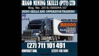dump truck training in vryburg +27711101491
