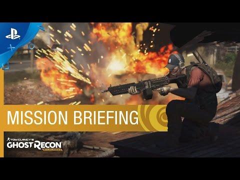 Tom Clancy's Ghost Recon Wildlands - Mission Briefing Trailer   PS4