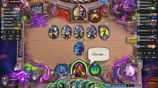 Hearthstone wild Kingsbane Rogue Gameplay