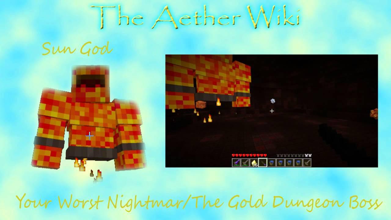The Aether Wiki - Episode 12 - Gold Dungeon Boss - Sun God/Spirit