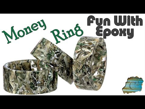 Fun With Epoxy: Money Rings