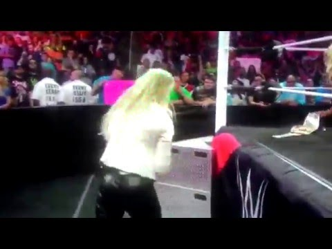 WWE Charlotte Panty Exposed