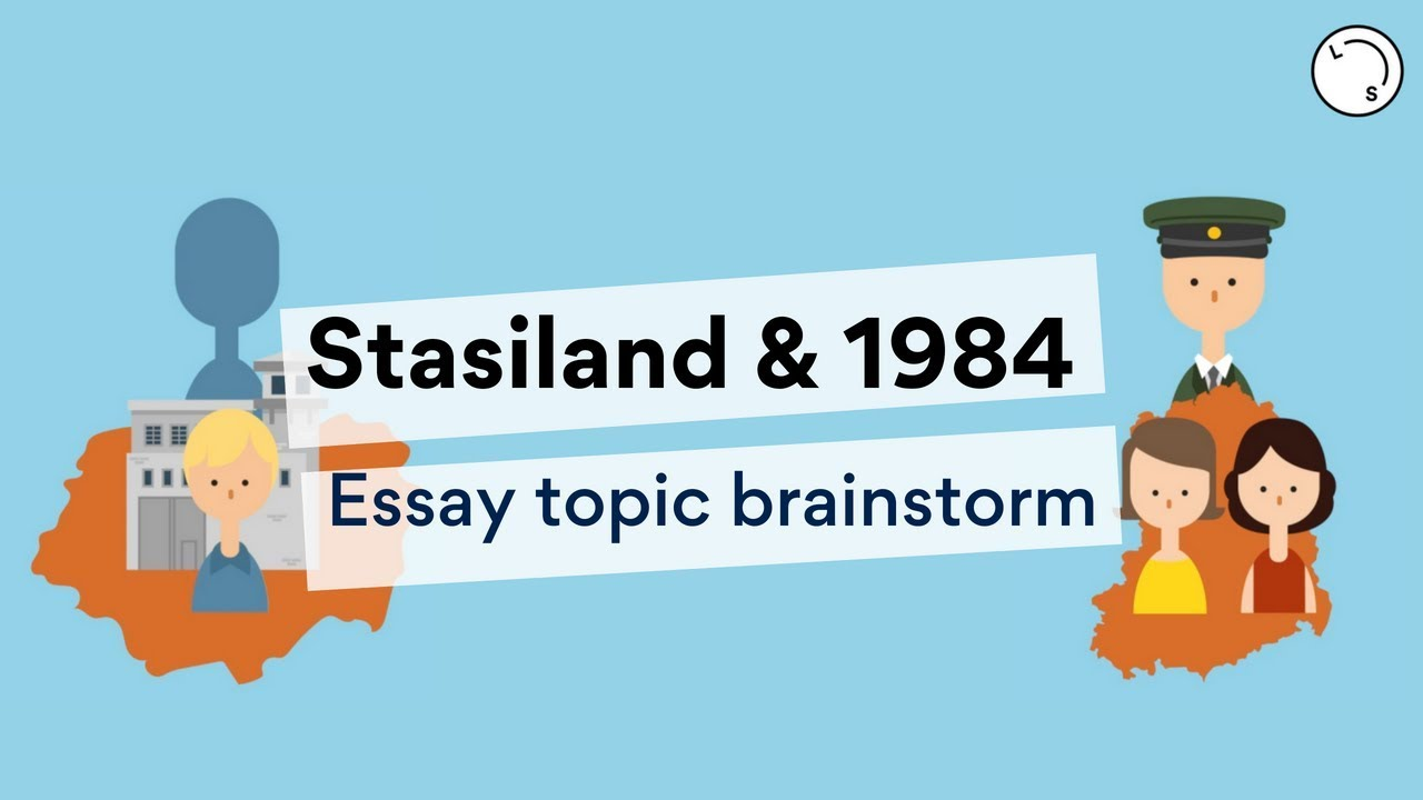 Comparing: Stasiland and 1984 | Lisa's Study Guides