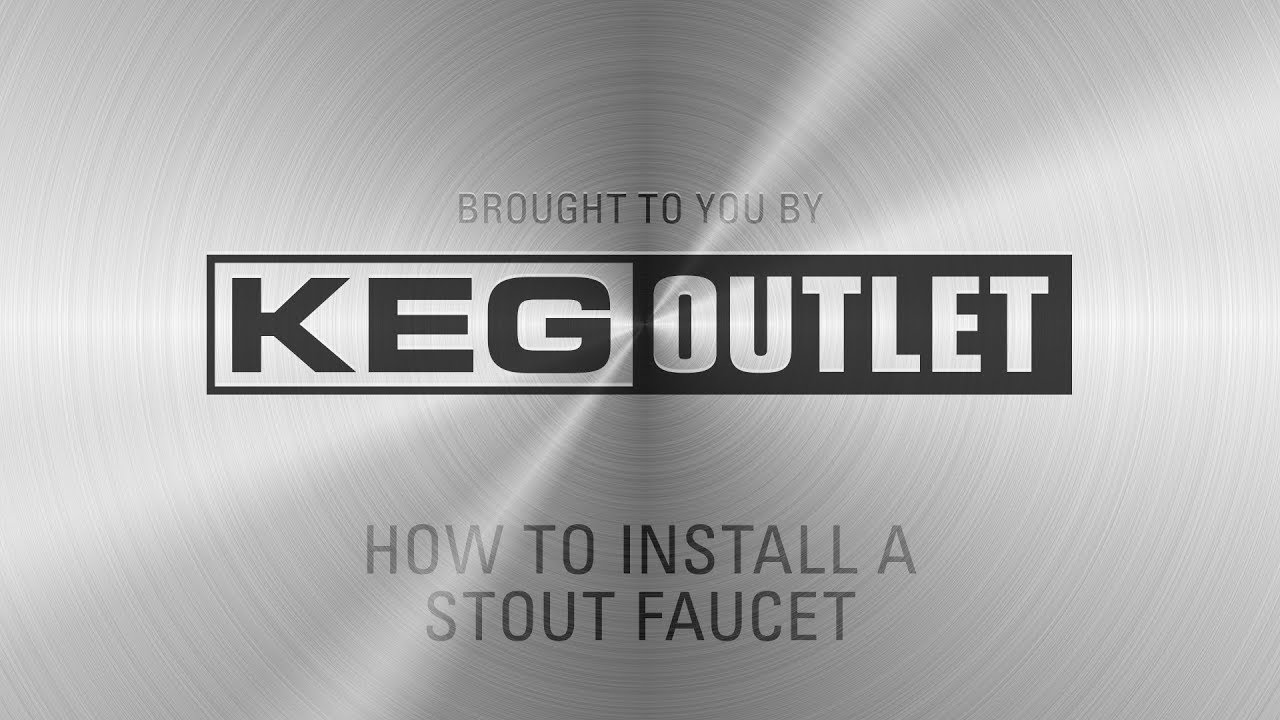 How to Install a Stout Faucet for Serving Nitro Coffee - YouTube